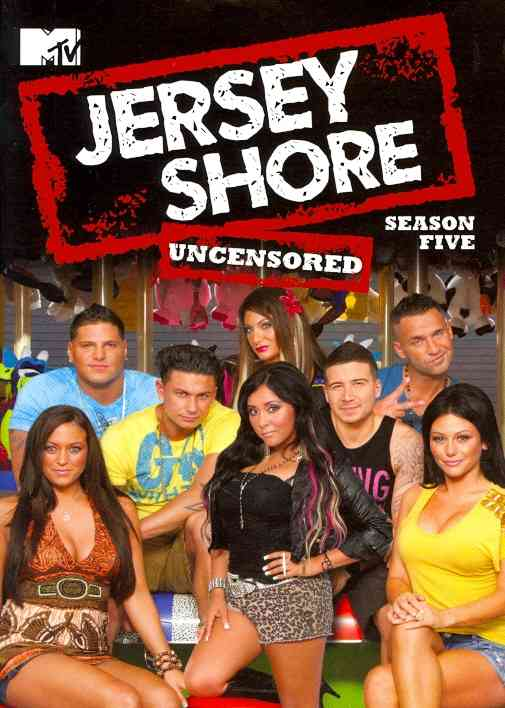 JERSEY SHORE:SEASON FIVE BY JERSEY SHORE (DVD)